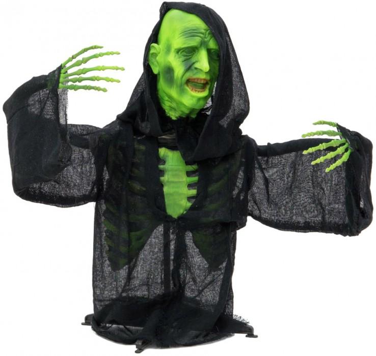 EUROPALMS Halloween Zombie sitzend 120x50x25cm